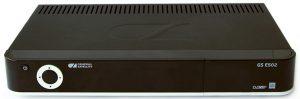 Двухтюнерная приставка-сервер GS E502 передняя панель
